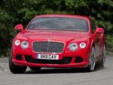 Bentley Continental GT UK-spec 2011 wallpapers