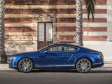 Bentley Continental GT Speed 2012–14 wallpapers