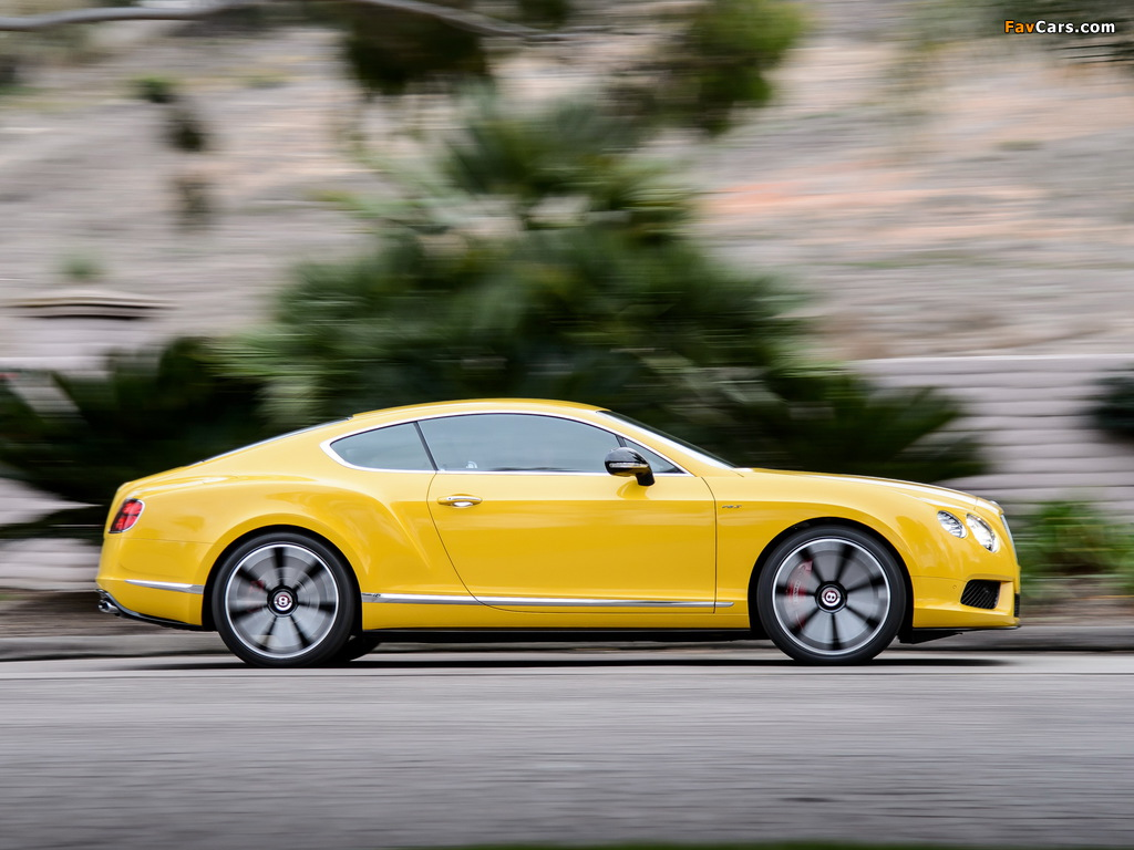 Bentley Continental GT V8 S Coupe 2013 wallpapers (1024 x 768)