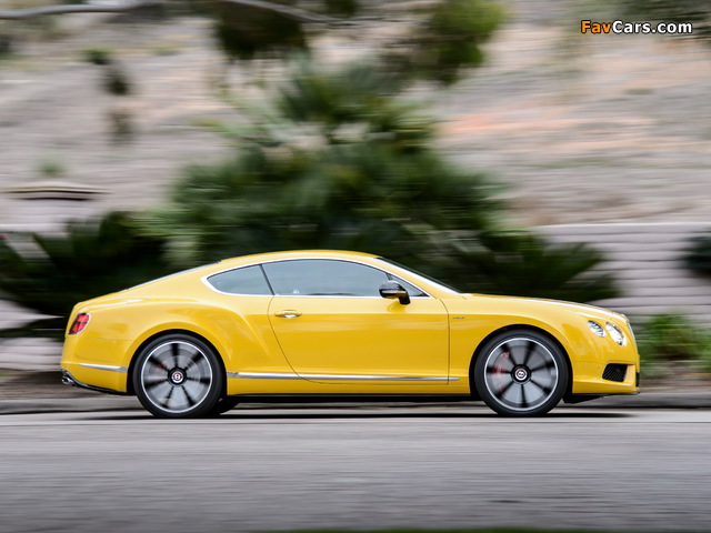 Bentley Continental GT V8 S Coupe 2013 wallpapers (640 x 480)