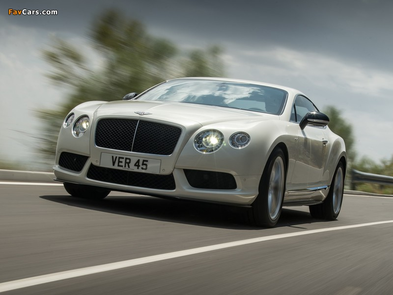 Bentley Continental GT V8 S Coupe 2013 wallpapers (800 x 600)