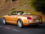 Bentley Continental GT Speed Convertible 2013–14 wallpapers