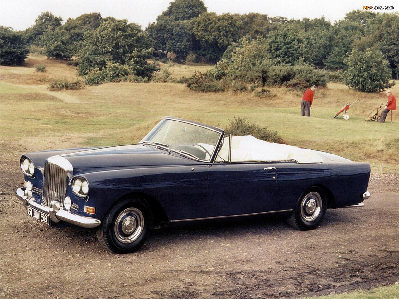 Bentley S3 Continental Convertible by Mulliner Park Ward 1962–66 photos (1280 x 960)