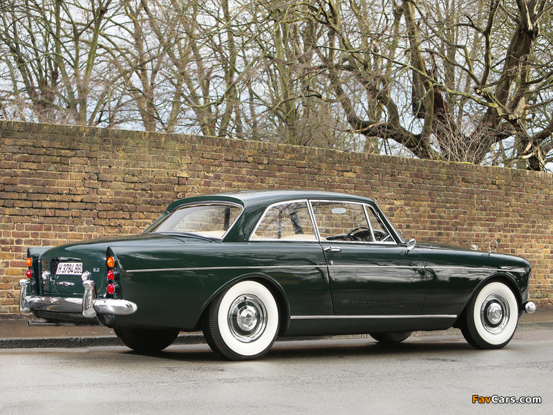 Bentley S3 Continental Coupe by Mulliner Park Ward UK-spec 1964–65 images (800 x 600)