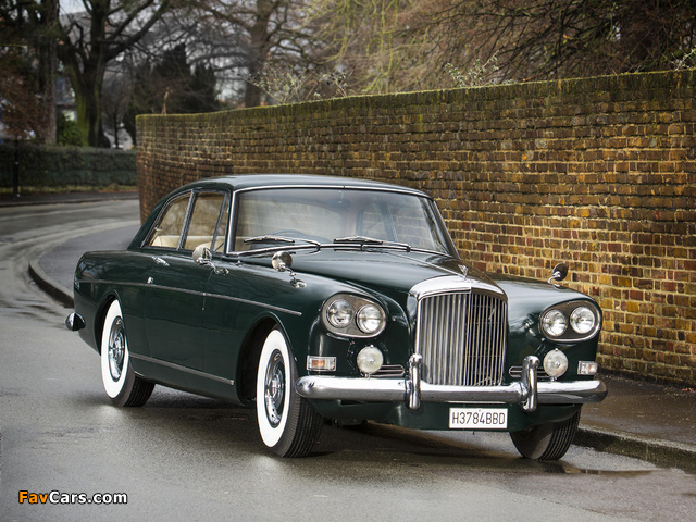 Bentley S3 Continental Coupe by Mulliner Park Ward UK-spec 1964–65 images (640 x 480)