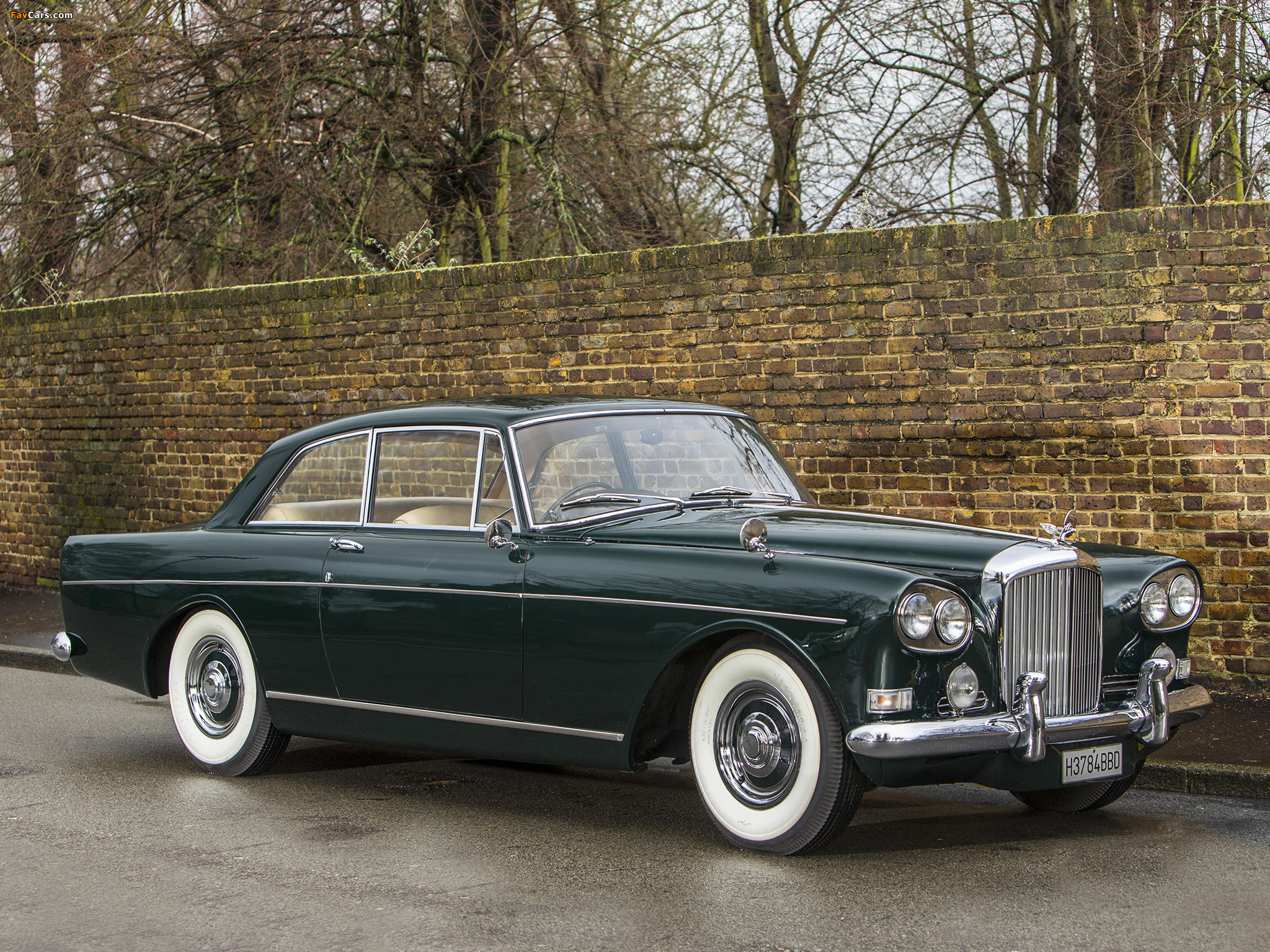 Bentley S3 Continental Coupe by Mulliner Park Ward UK-spec 1964–65 pictures (2048 x 1536)
