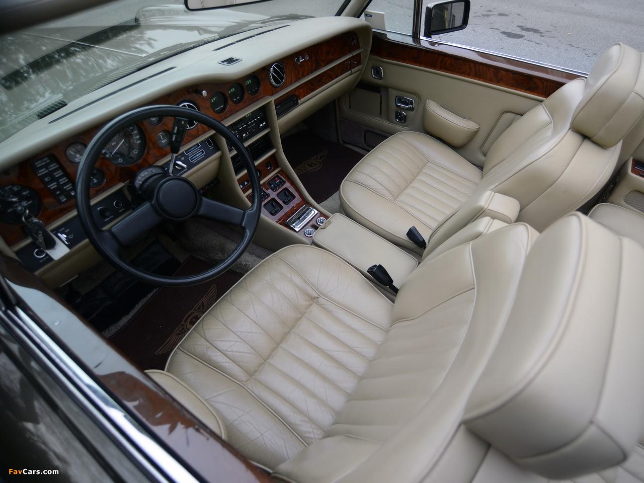 Bentley Continental Convertible 1984–89 wallpapers (1280 x 960)