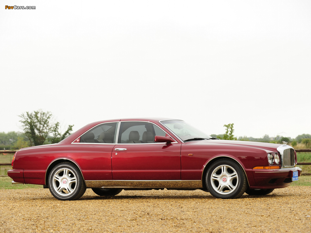 Bentley Continental R 1991–2002 images (1024 x 768)