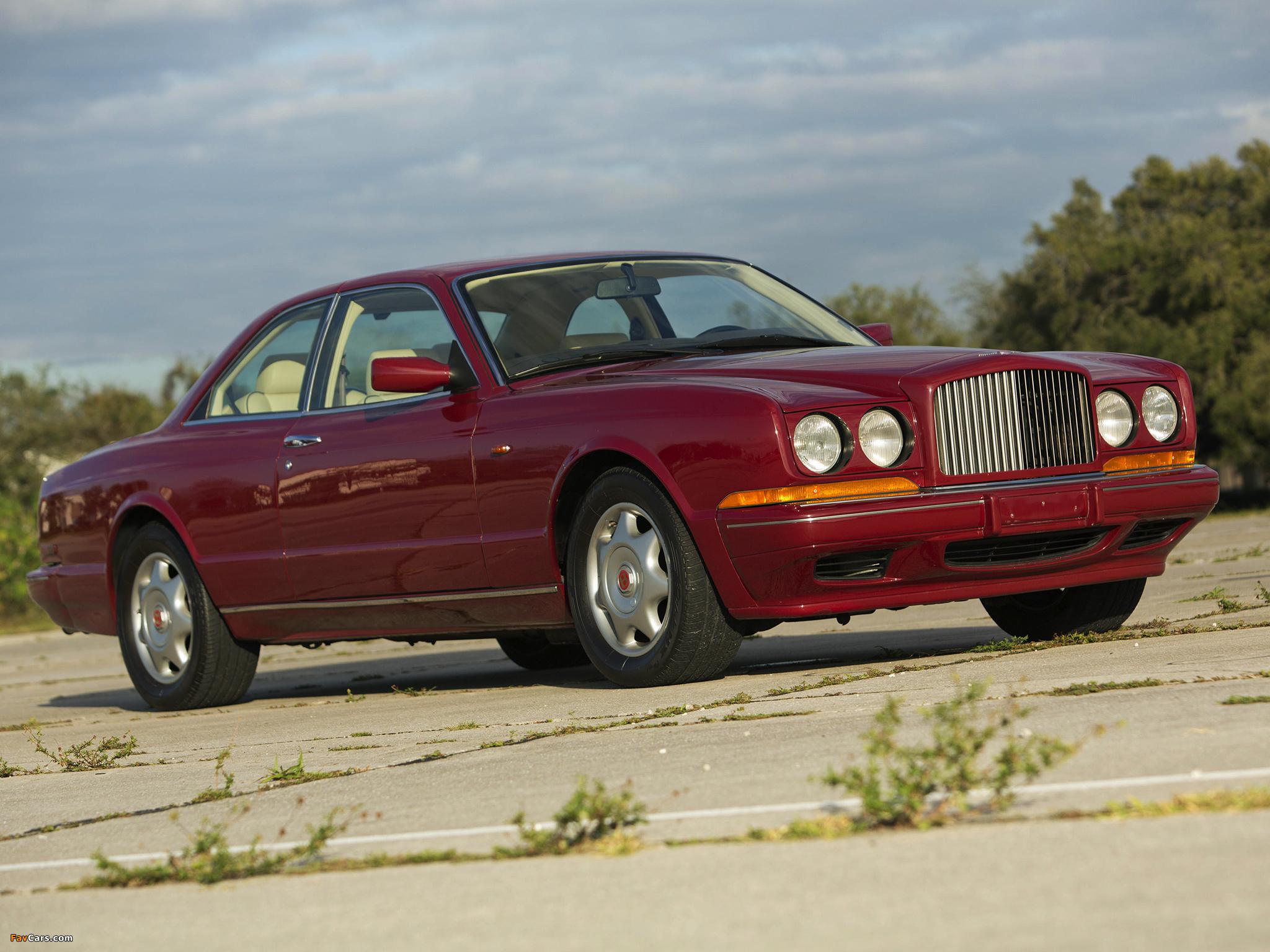 Bentley Continental R 1991–2002 photos (2048 x 1536)