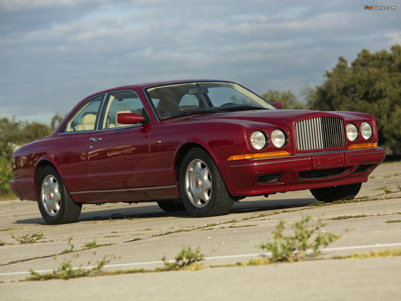 Bentley Continental R 1991–2002 photos (1280 x 960)