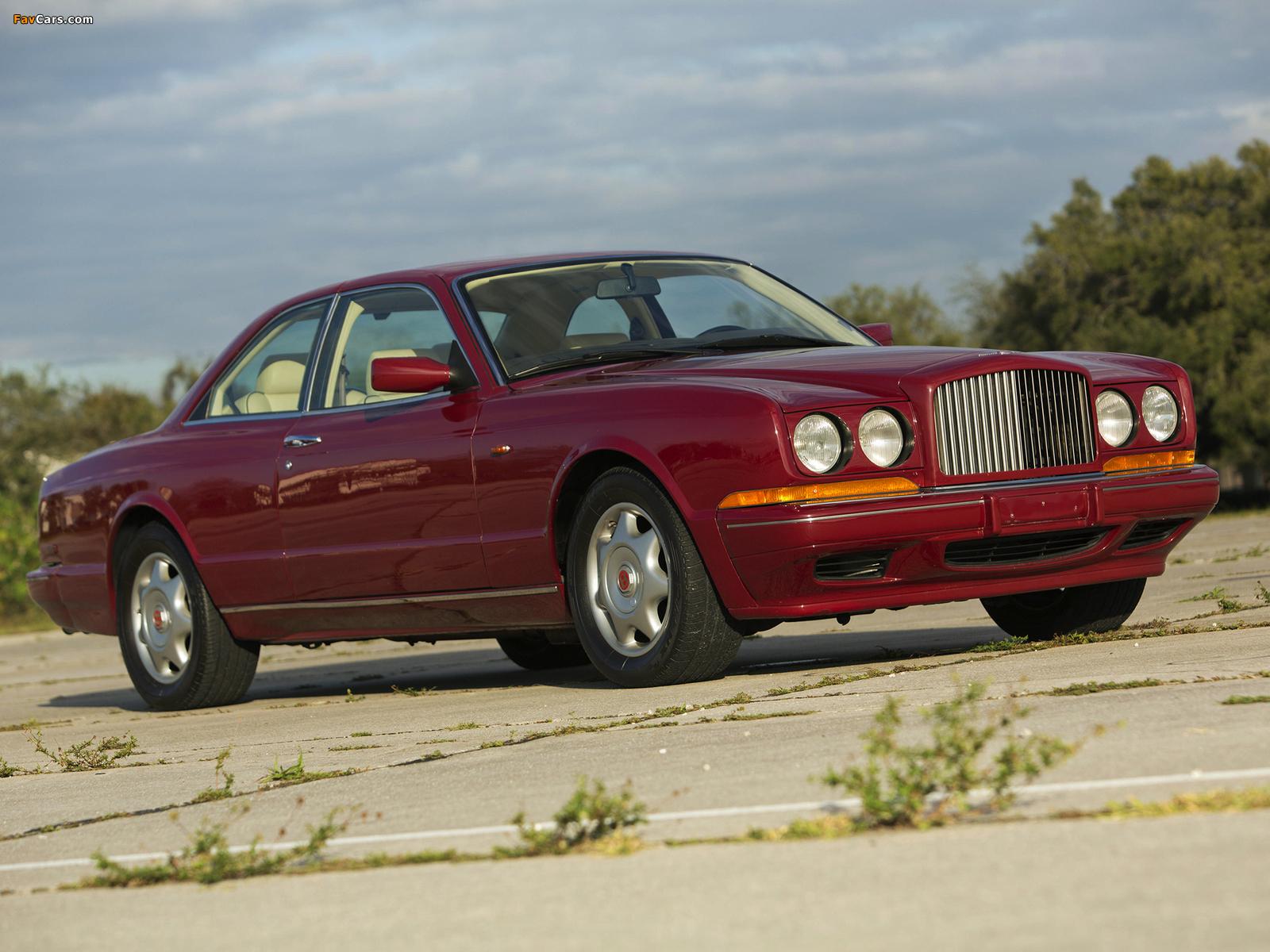 Bentley Continental R 1991–2002 photos (1600 x 1200)