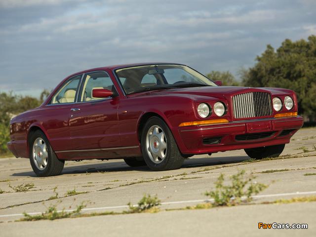 Bentley Continental R 1991–2002 photos (640 x 480)