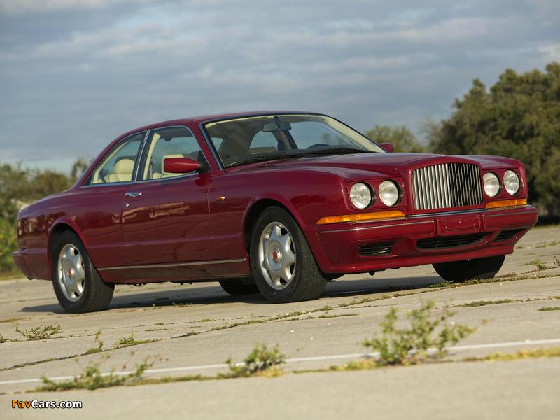 Bentley Continental R 1991–2002 photos (800 x 600)