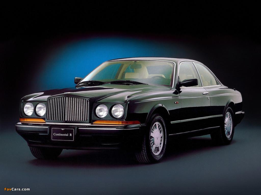 Bentley Continental R 1991–2002 pictures (1024 x 768)