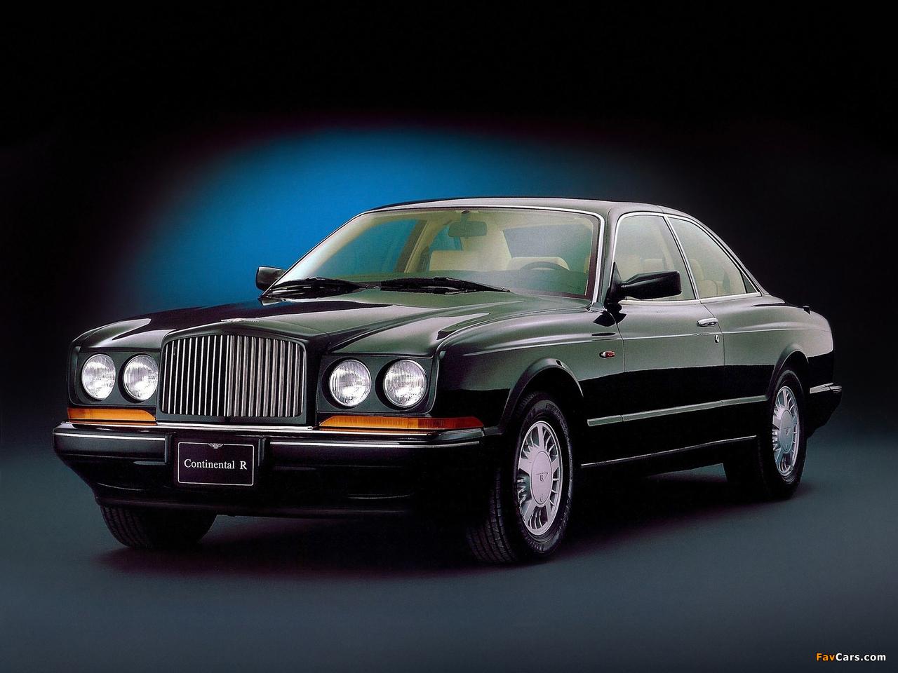 Bentley Continental R 1991–2002 pictures (1280 x 960)