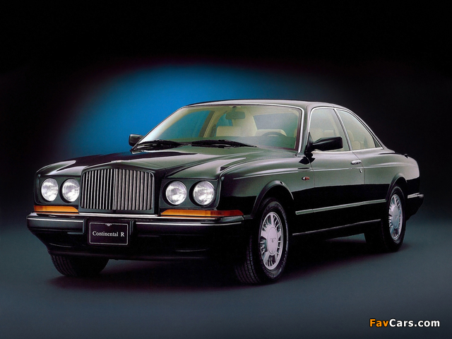 Bentley Continental R 1991–2002 pictures (640 x 480)