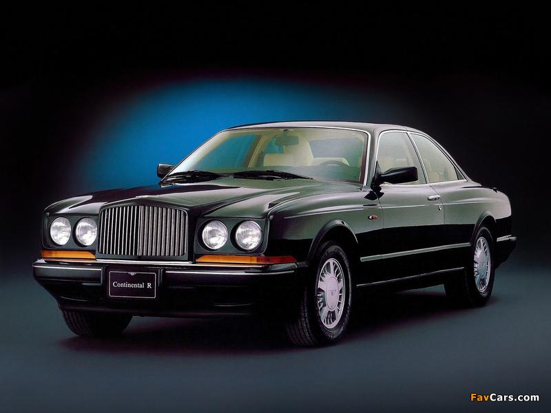 Bentley Continental R 1991–2002 pictures (800 x 600)