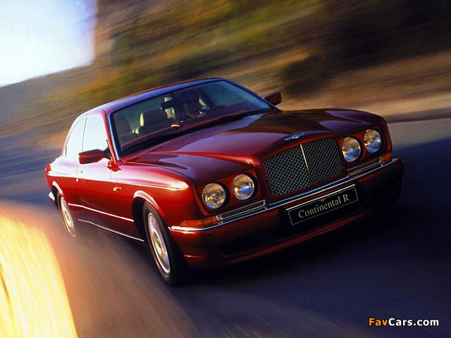 Bentley Continental R 1991–2002 wallpapers (640 x 480)