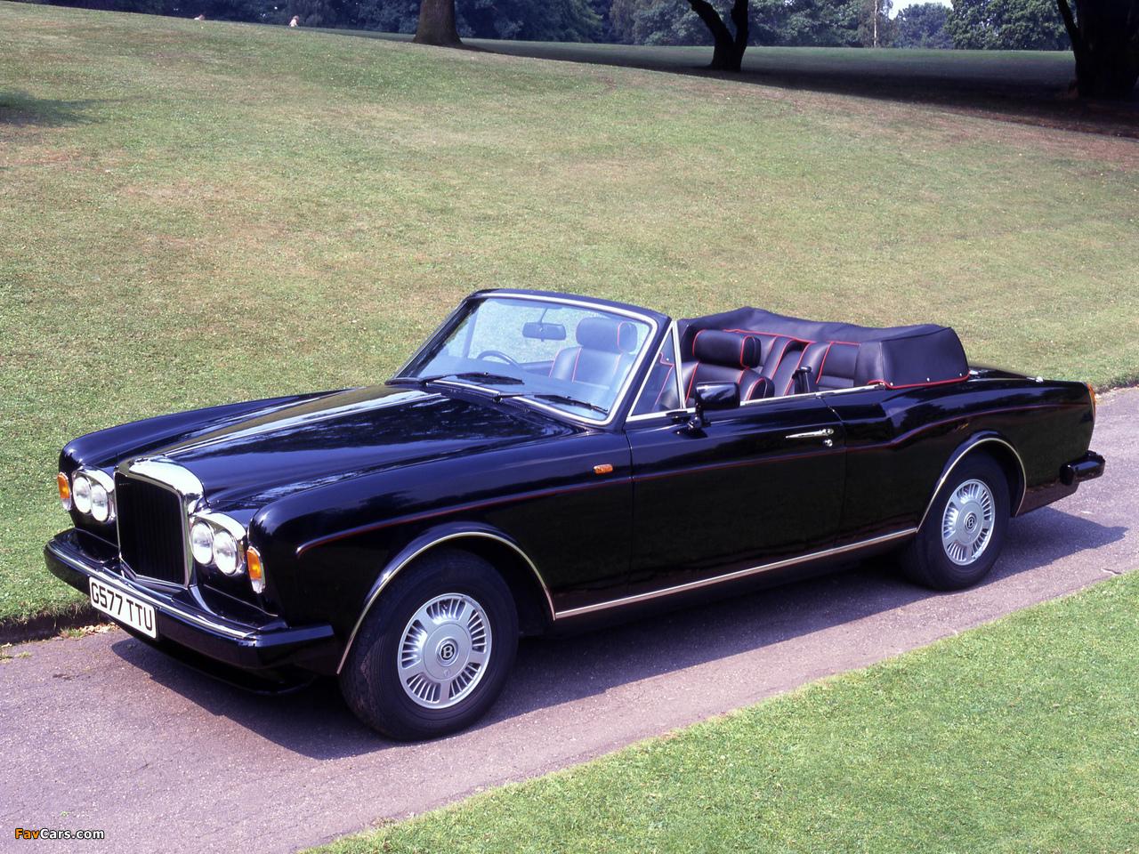 Bentley Continental Convertible UK-spec 1992–95 wallpapers (1280 x 960)