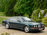 Bentley Continental T by Mulliner Park Ward 1996 images