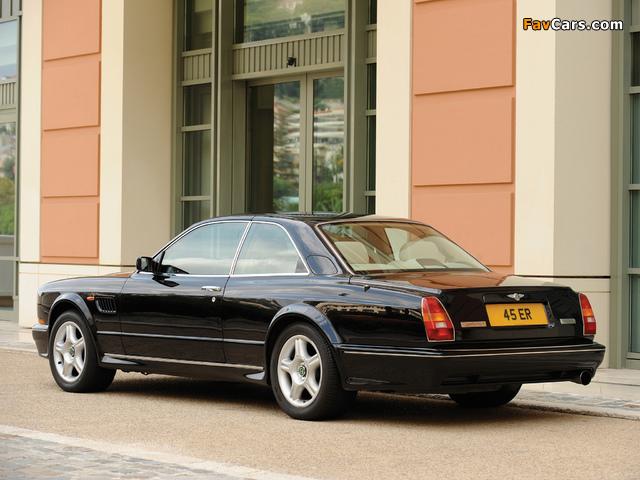 Bentley Continental R Mulliner 1999–2002 wallpapers (640 x 480)