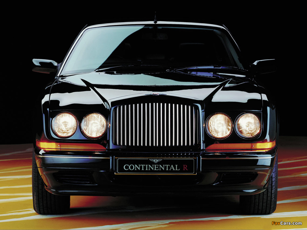 Images of Bentley Continental R 1991–2002 (1024 x 768)