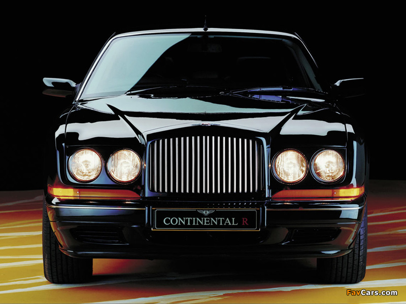Images of Bentley Continental R 1991–2002 (800 x 600)