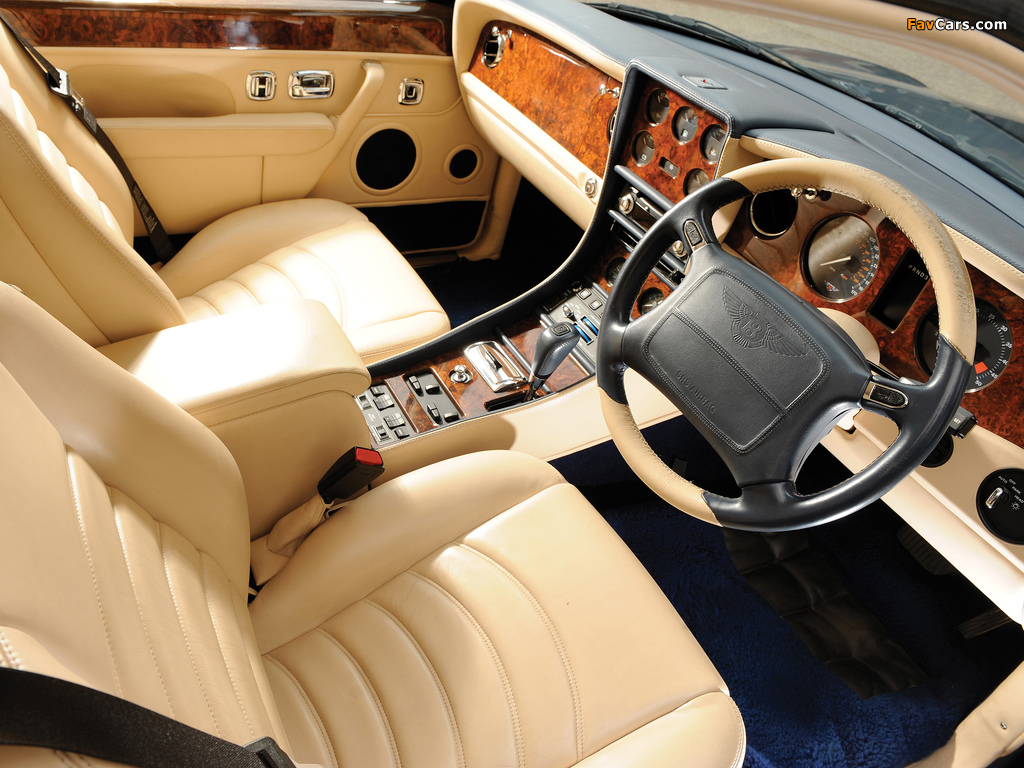 Images of Bentley Continental R Mulliner 1999–2002 (1024 x 768)