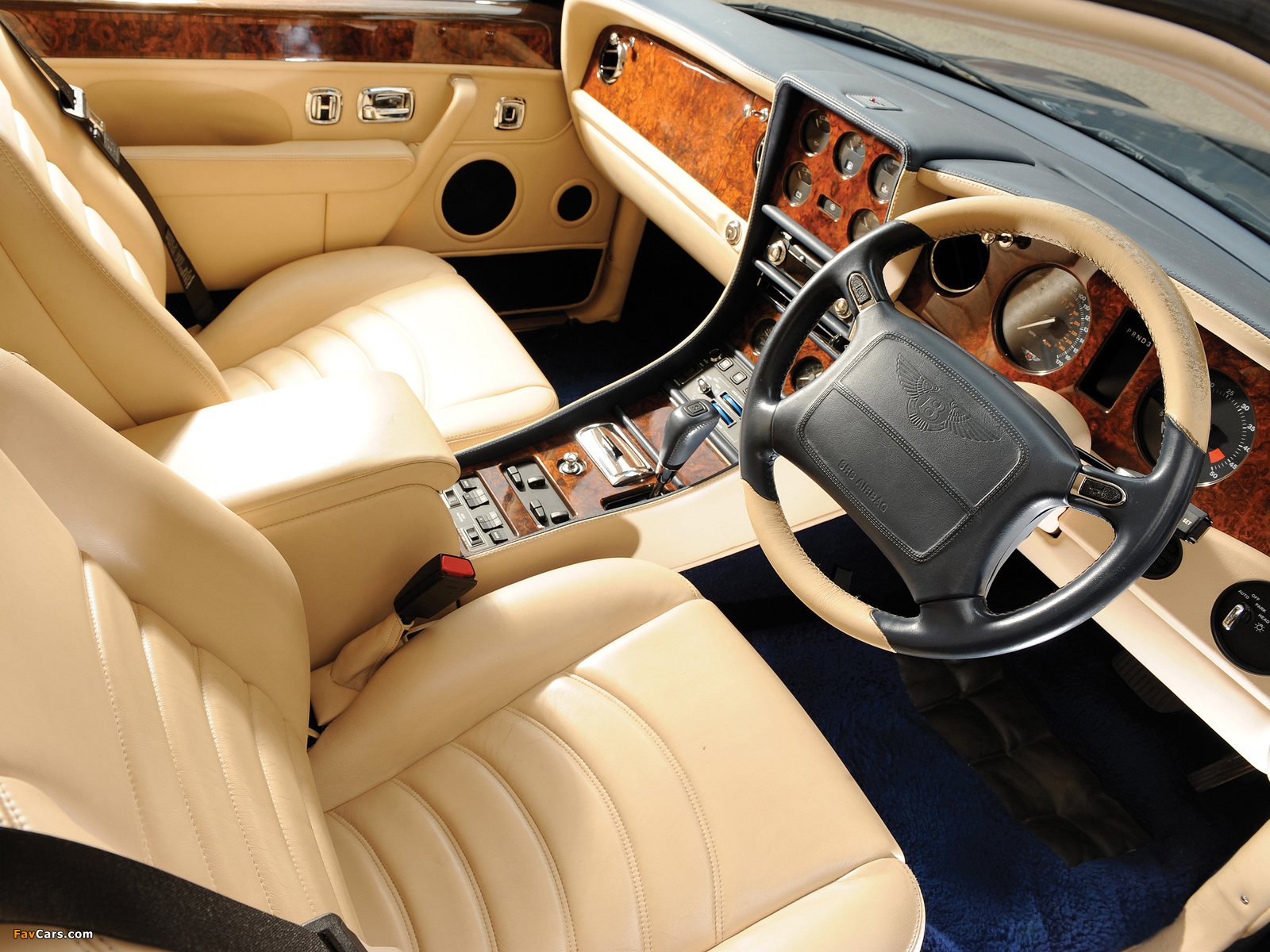 Images of Bentley Continental R Mulliner 1999–2002 (1600 x 1200)