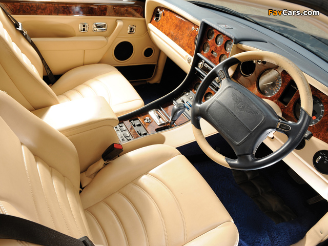 Images of Bentley Continental R Mulliner 1999–2002 (640 x 480)