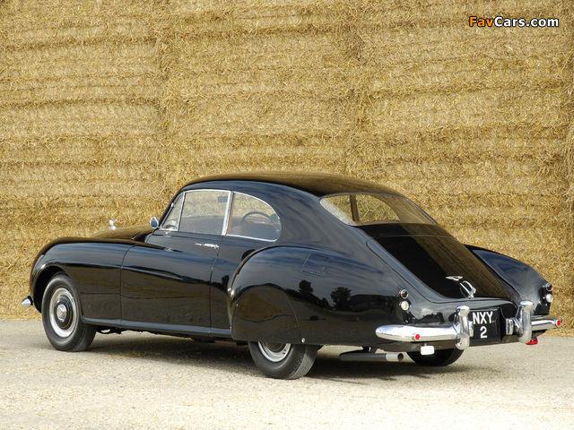 Photos of Bentley R-Type Continental Fastback 1953–55 (640 x 480)