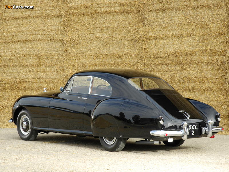 Photos of Bentley R-Type Continental Fastback 1953–55 (800 x 600)