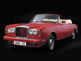 Photos of Bentley Continental Convertible UK-spec 1984–89