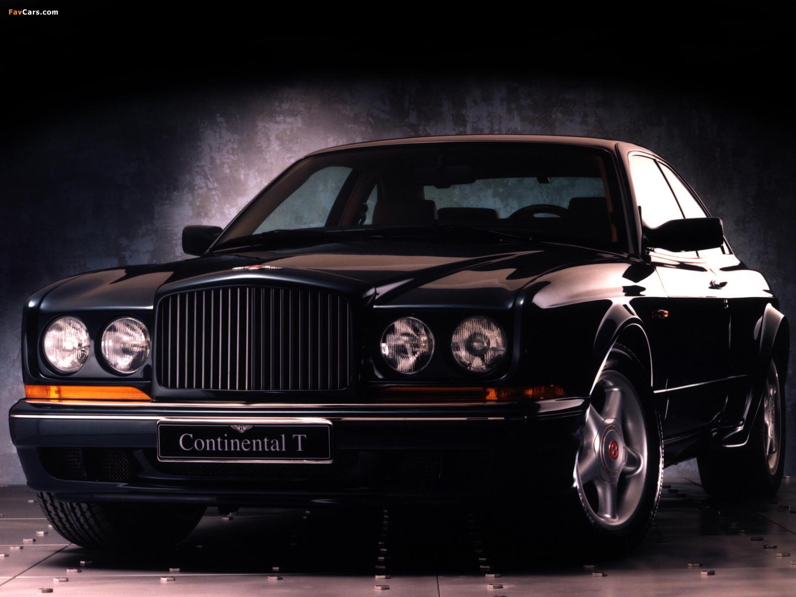 Photos of Bentley Continental T 1996–2002 (1600 x 1200)