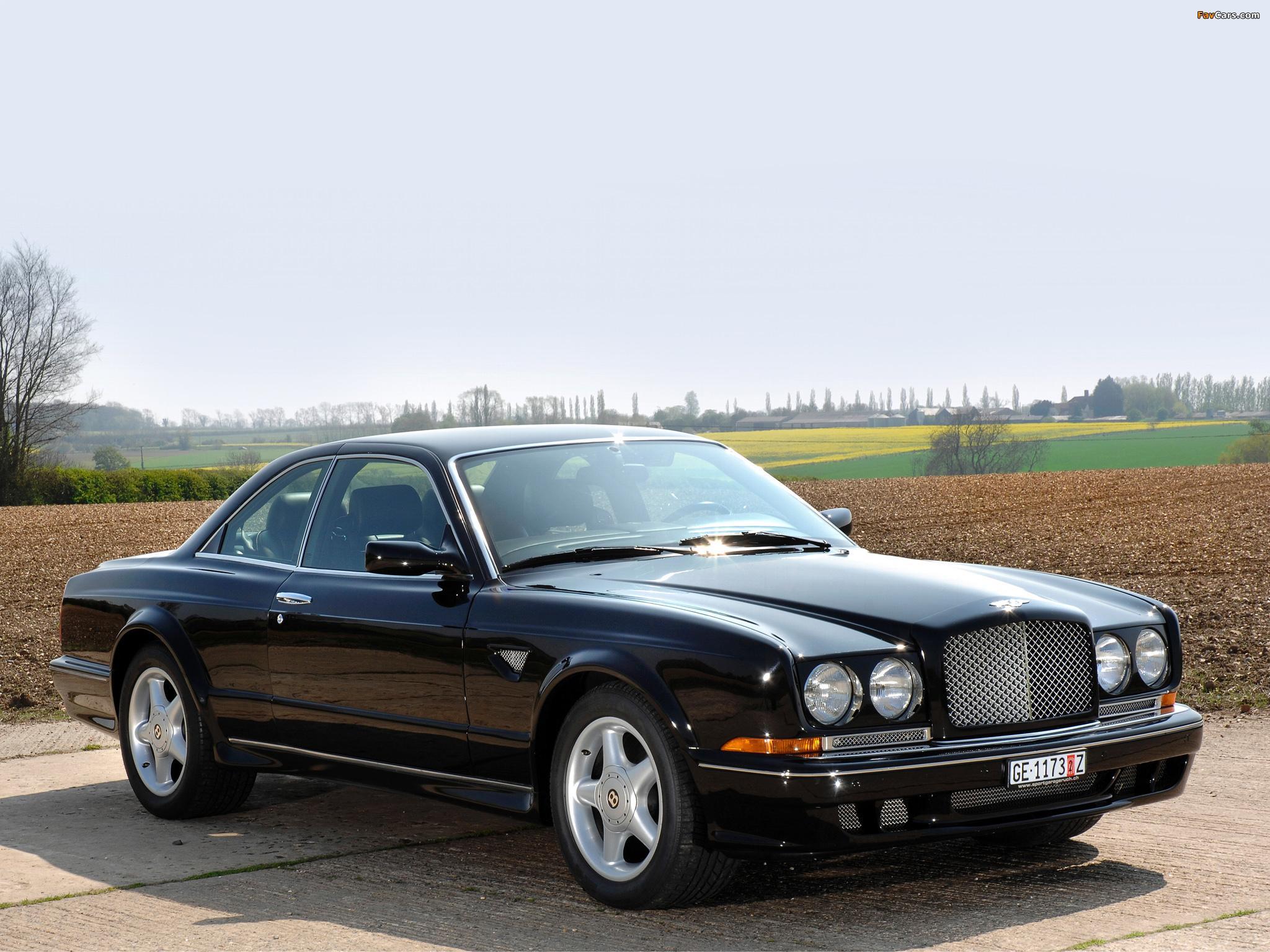 Photos of Bentley Continental T 1996–2002 (2048 x 1536)