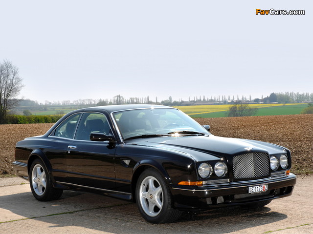 Photos of Bentley Continental T 1996–2002 (640 x 480)