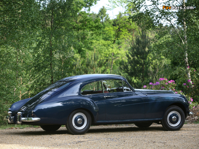 Pictures of Bentley R-Type Continental Sports Saloon by Mulliner 1952–55 (640 x 480)