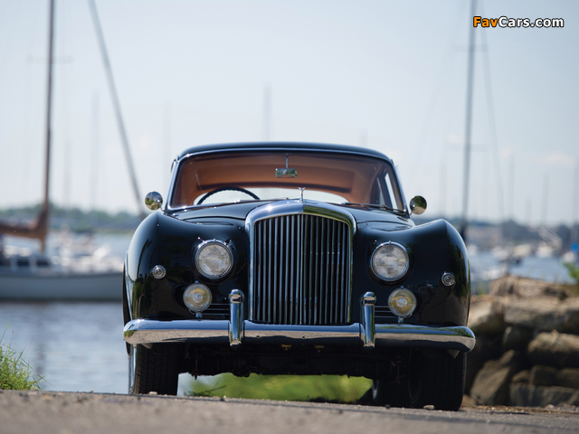 Pictures of Bentley S1 Continental Sports Saloon by Mulliner 1955–59 (640 x 480)