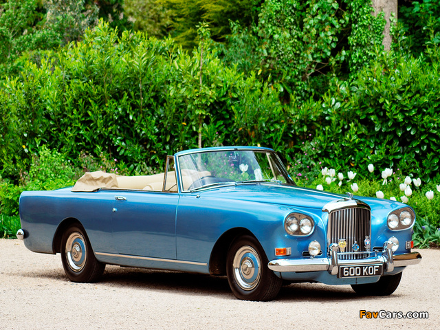 Pictures of Bentley S3 Continental Convertible by Mulliner Park Ward 1962–66 (640 x 480)