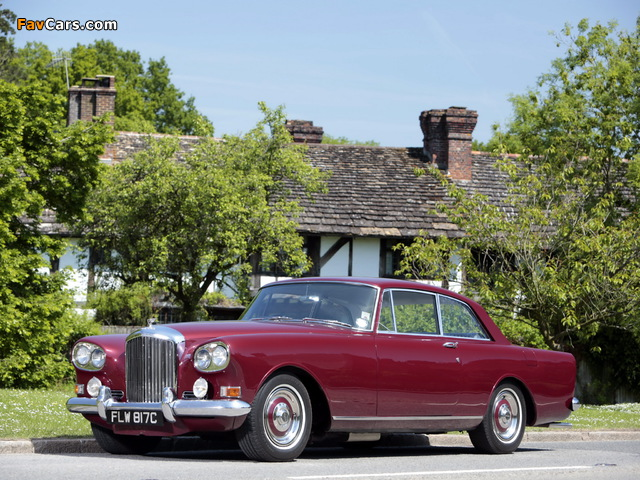 Pictures of Bentley S3 Continental Coupe by Mulliner Park Ward UK-spec 1964–65 (640 x 480)