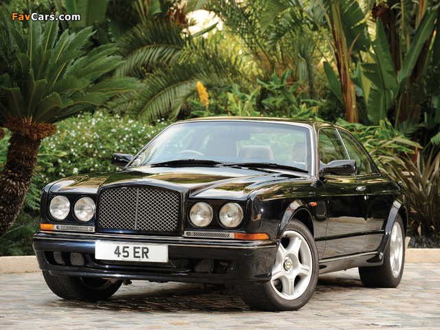 Pictures of Bentley Continental R Mulliner 1999–2002 (640 x 480)