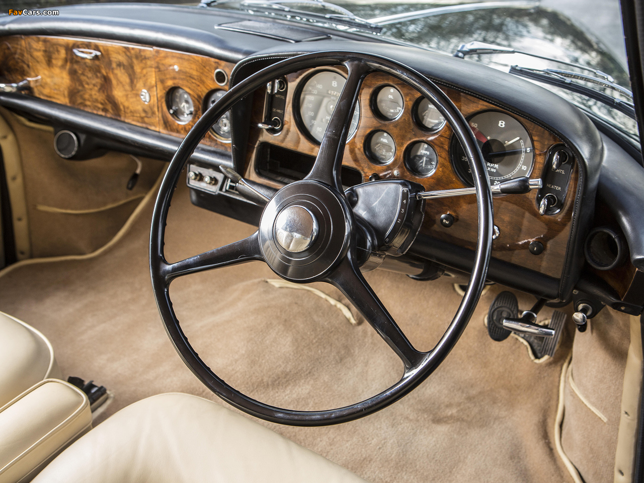 Bentley S3 Continental Coupe by Mulliner Park Ward UK-spec 1964–65 wallpapers (1280 x 960)