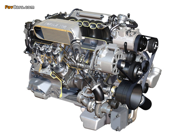 Images of Bentley 6.8 V8 (537hp) (640 x 480)