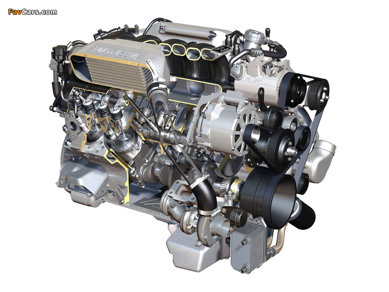 Images of Bentley 6.8 V8 (537hp) (800 x 600)