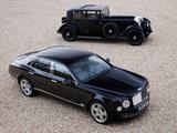Bentley Mulsanne & Bentley 8 Litre wallpapers