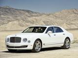 Bentley Mulsanne US-spec 2010 images