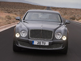 Images of Bentley Mulsanne Mulliner Driving Spec 2012
