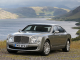 Photos of Bentley Mulsanne UK-spec 2010
