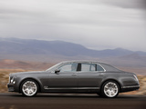 Photos of Bentley Mulsanne Mulliner Driving Spec 2012