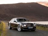 Pictures of Bentley Mulsanne UK-spec 2010